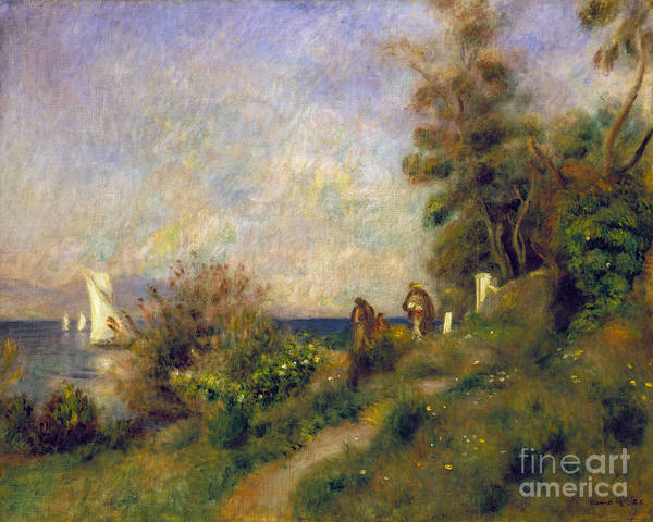 Photograph - Renoir: Antibes, 1888 by Granger
