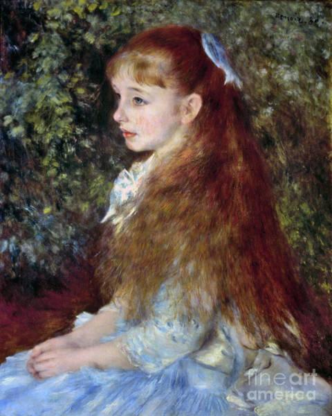Photograph - Renoir: Mlle Danvers, 1880 by Granger