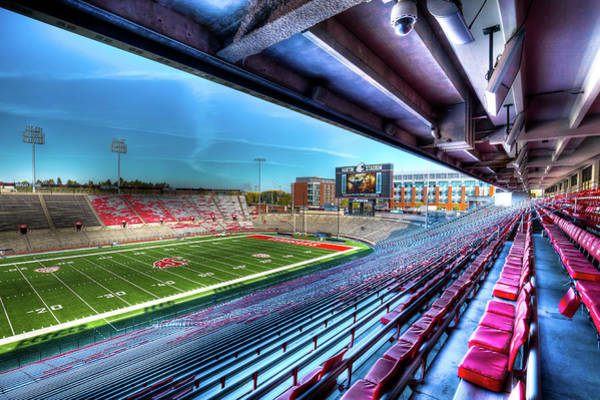 Photograph - Renovated Martin Stadium by David Patterson