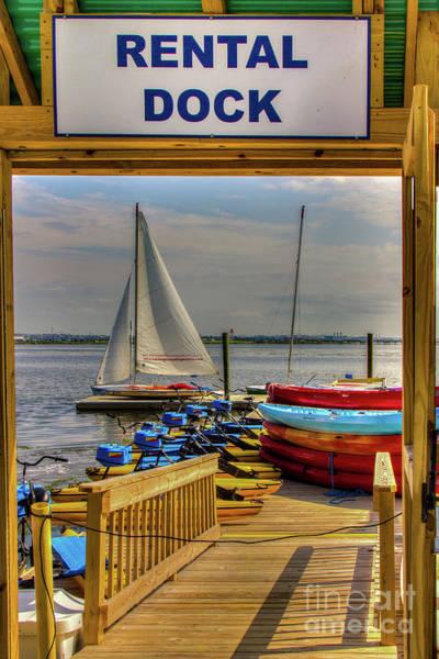 Photograph - Rental Dock by Rod Best