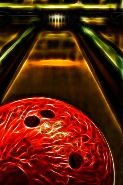 Bowling Ball Wall Art - Photograph - Rental by Joetta West