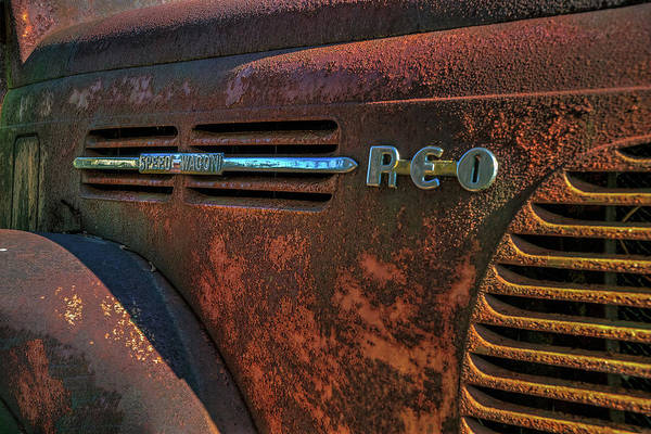 Photograph - Reo Speedwagon Truck by Jerry Gammon