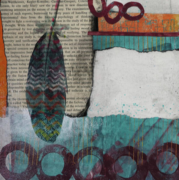Page Mixed Media - Reorienting  by Laura Lein-Svencner