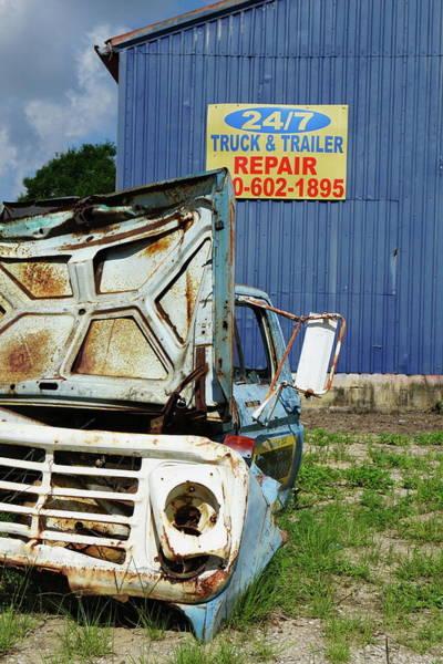 Beyond Repair Photograph - For Sale Cheap by Chuck Johnson