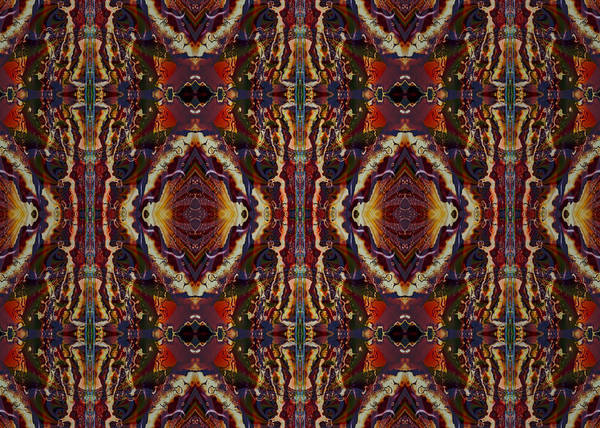 Digital Art - Impressions - Aztec Intensity by Charmaine Zoe