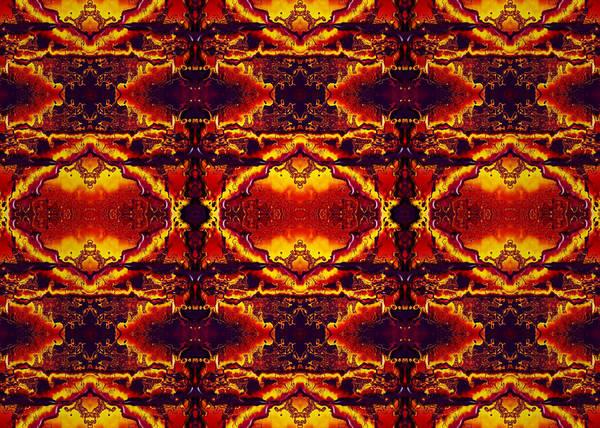 Digital Art - Impressions - Volcanic Emissions II by Charmaine Zoe