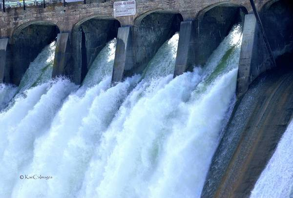 Spillway Photograph - Repetition And Variance by Kae Cheatham