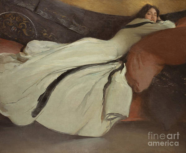 Wall Art - Painting - Repose, 1895 by John White Alexander