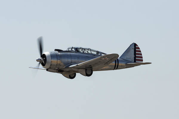 Radial Engine Photograph - Republic At-12 by John Daly