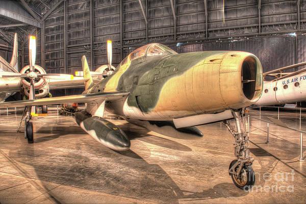 Wall Art - Photograph - Republic F-84f Thunderstreak by Greg Hager