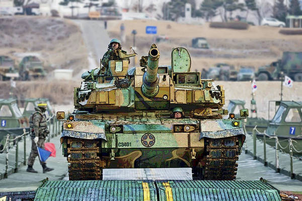 Photograph - Republic Of Korea K2 Black Panther Tank by Herb Paynter