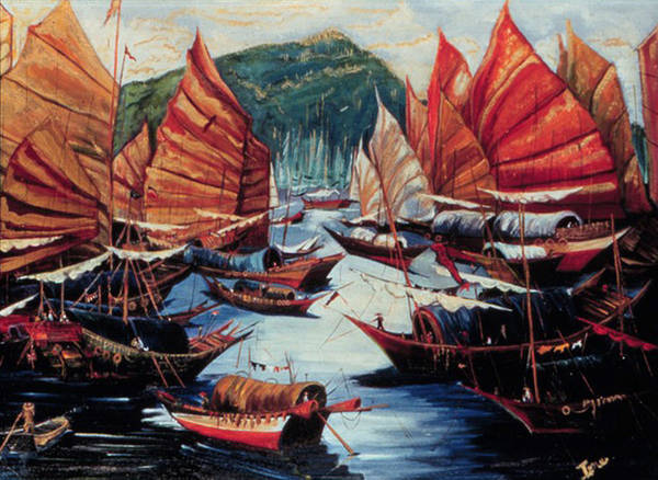 Ione Painting - Repulse Bay  by Ione Citrin