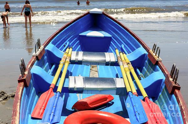 Photograph - Rescue Boat At Atlantic City 2006 by John Rizzuto