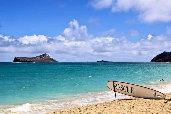 Hawaiiana Photograph - Rescue Me by DJ Florek