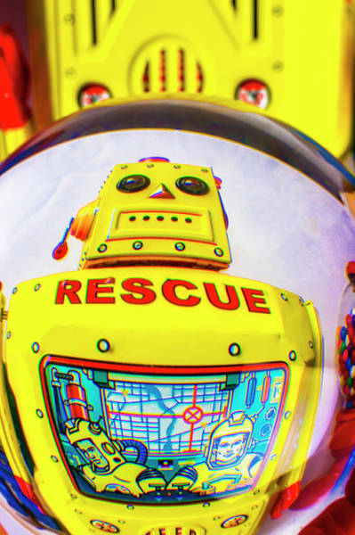 Wall Art - Photograph - Rescue Yellow Bot by Garry Gay