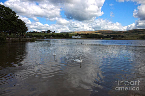 Photograph - Reservoir In Littleborough - Greater Manchester - England by Doc Braham
