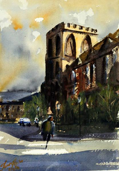 Washington D.c Painting - Residences, Catholic University by James Nyika