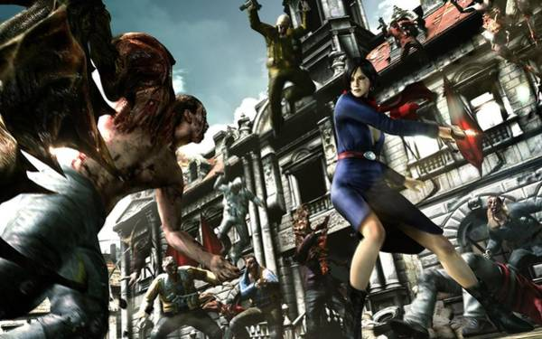 Digital Art - Resident Evil 6 by Maye Loeser