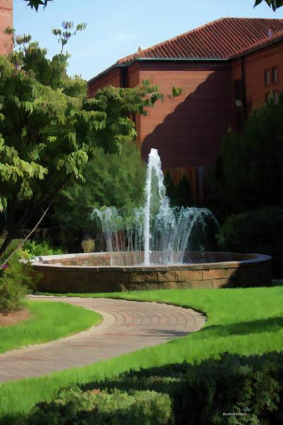 Photograph - Resident Fountain by Roberta Byram