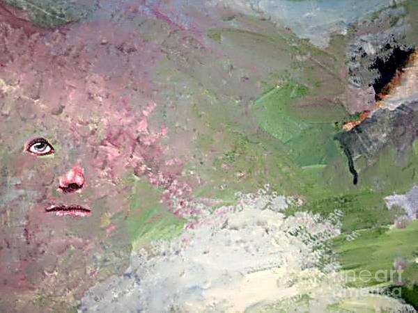 Buried Painting - Resigned by Vicki Lynn Sodora