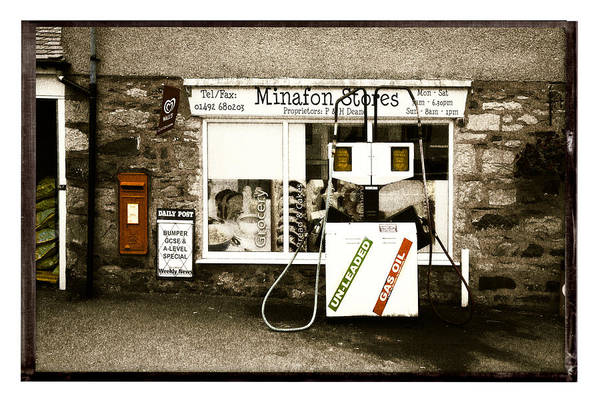 Wall Art - Photograph - Resist Change - Village Shop Part1 by Mal Bray