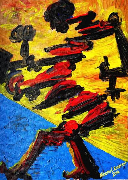 Recycling Painting - Resistance To Oppressions And Injustices #1 by Mbonu Emerem