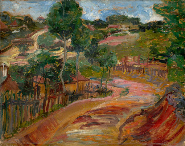 Painting - Resnik by Nadezda Petrovic