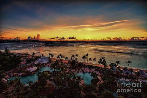 Photograph - Resort Sunset by Ray Shiu