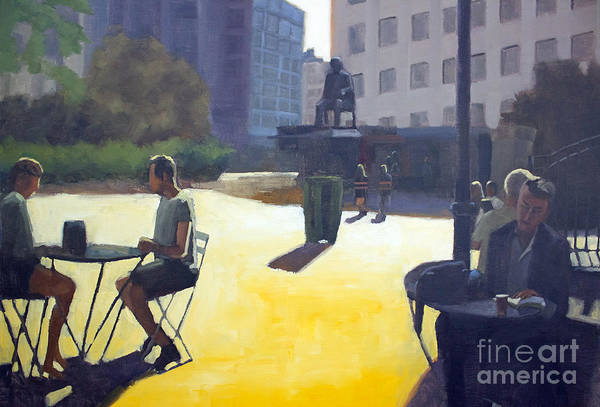 Wall Art - Painting - Respite In The City by Tate Hamilton