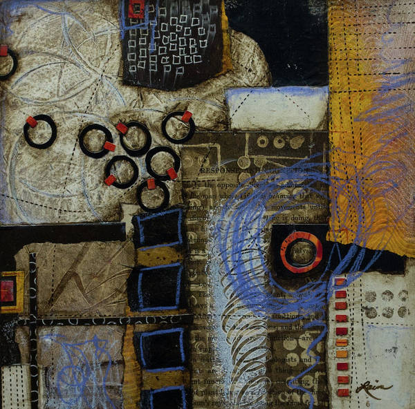 Dot Mixed Media - Respond To Patterns by Laura Lein-Svencner