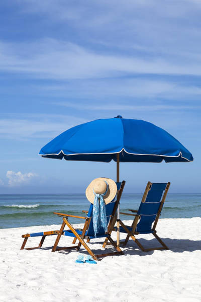 Destin Photograph - Rest And Relaxation by Janet Fikar