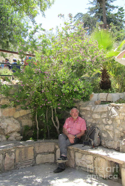 Photograph - Rest By The Garden Tomb by Donna L Munro