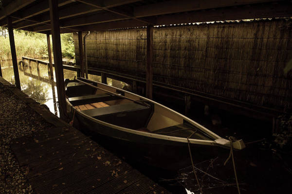 Wall Art - Photograph - Rest In Boathouse. Giethoorn by Jenny Rainbow