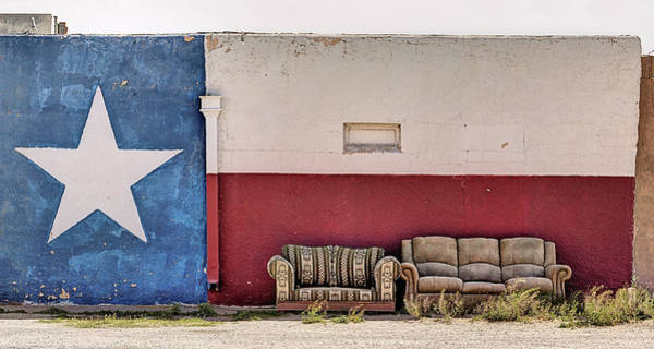 Wall Art - Photograph - Rest Your Feet In Fort Stockton  by JC Findley