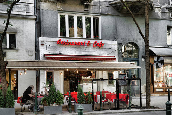 Photograph - Restaurant And Cafe by Sharon Popek