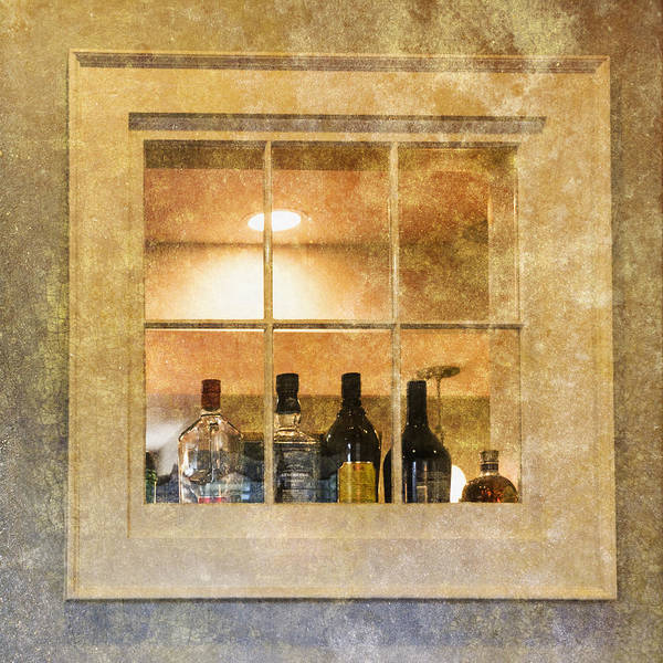 Photograph - Restaurant Window by Tom Singleton