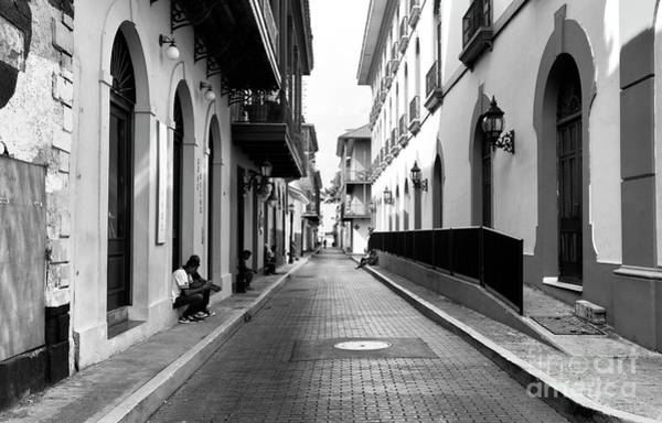 Wall Art - Photograph - Resting In Casco Viejo Mono by John Rizzuto