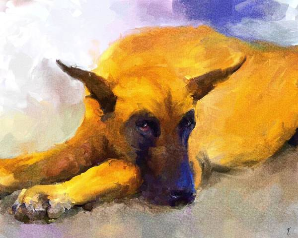 Painting - Resting by Jai Johnson