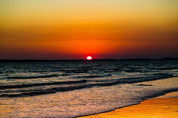 Photograph - Resting Sun - Charleston Coast by Donnie Whitaker