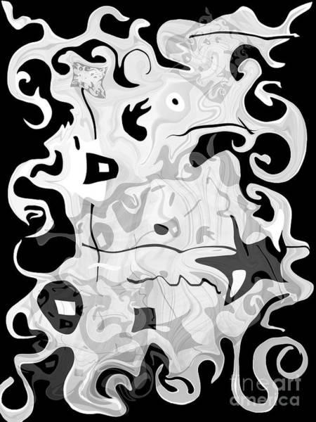 Digital Art - Restless Soul by Fei A