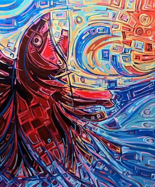 Restless Waters Art Print