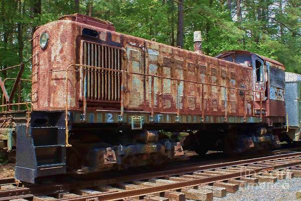 Photograph - Restoration Bound Train by Roberta Byram