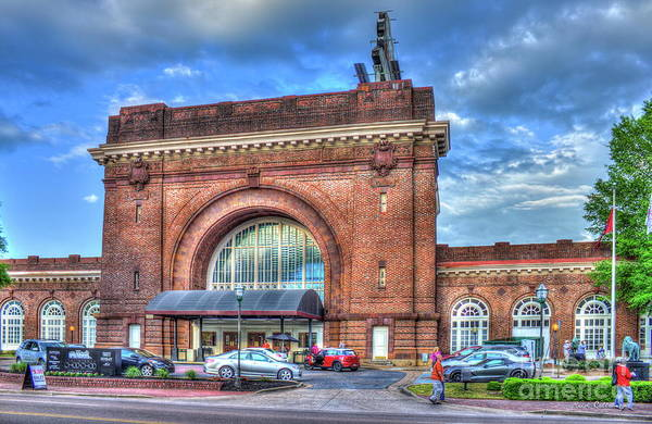 Photograph - Restoring The Chattanooga Choo Choo Hotel Terminal Station Chattanooga Tennessee Art by Reid Callaway