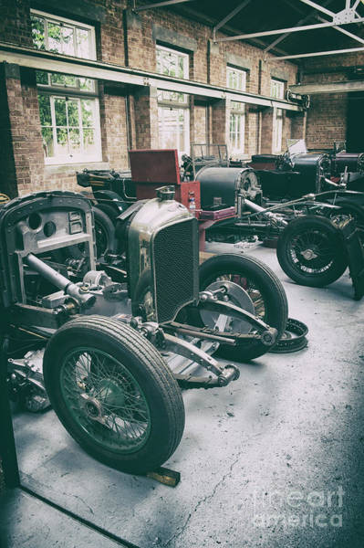 Photograph - Restoring Vintage Bentleys by Tim Gainey
