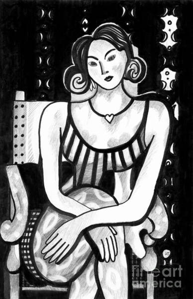 Drawing - Rethinking Matisse by Helena Tiainen