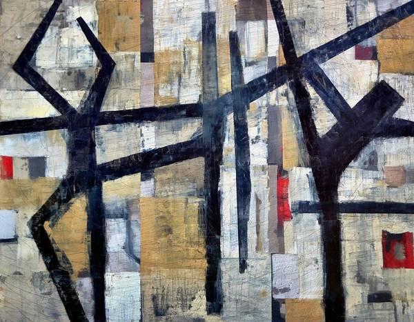 Painting - Retire Arabesque Penche by Michelle Calkins