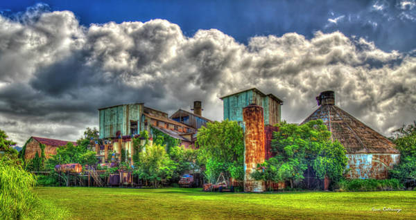 Photograph - Retired And Rusty Old Koloa Sugar Mill Kauai Collection Art by Reid Callaway