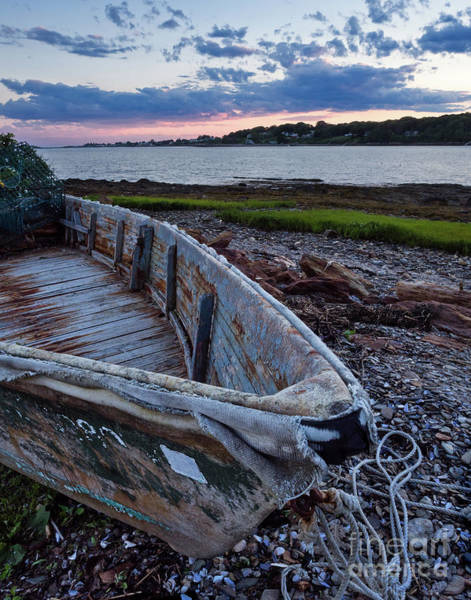 Photograph - Retired Boat, Harpswell, Maine #252437 by John Bald
