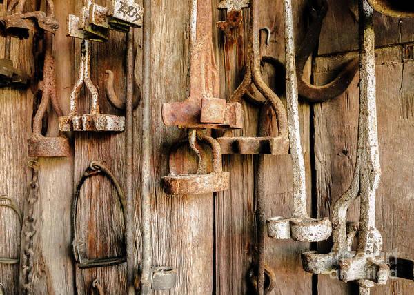 Branding Iron Photograph - Retired Branding Irons 3 by Lexa Harpell