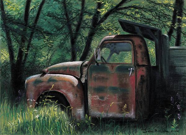 Pastel - Retired by John Clum